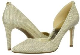 Michael Kors Dorothy Flex D'Orsay White/Gold/Champagne - $71.20