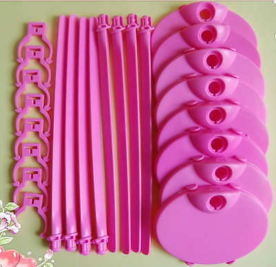 New 8 PCS Barbie Toys Doll Stand - free shpping Barby