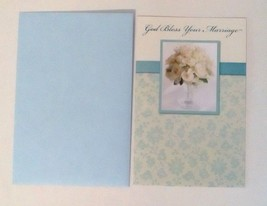 American Greetings Wedding Card: Summer Boutique God Bless Your Marriage - $5.94