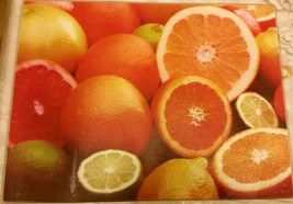 """Glass Cutting Board, Extra Long, Rectangle, Oranges, 11.8"""" X 15.7"""", Quality Home - $11.87"""