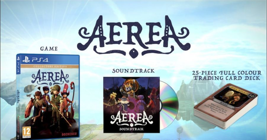 Primary image for Aerea Collector's Edition PS4 Playstation + Soundtrack + 25 Trading Card Deck