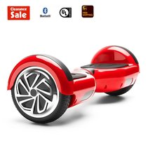 "GlareWheel Self balancing Electric scooter Hoverboard 6.5""RED - $99.00"