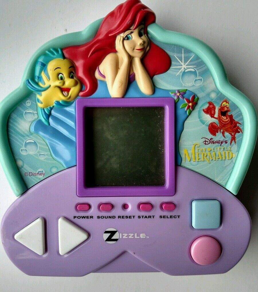2006 handheld electronic Walt Disney Little Mermaid travel game with sound