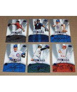 2004 UPPER DECK DIAMOND COLLECTION PRO SIGS  COMPLETE YOUR SET 4 CARDS F... - $1.00