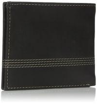 Timberland Men's Leather Slimfold Wallet Key Fob Gift Set Black NP0366/08 image 4