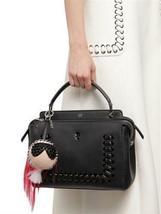 New $1100 Fendi Karlito Punkarlito Monster Studded Charm Bag image 6