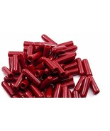 """RTR_SJHTRA 50 Pieces of Red Push-On Pliable Vinyl Caps 1/4"""" Screw Protec... - $19.80"""