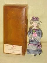 "Vintage Danbury Mint "" Marie "" Gibson Girl Porcelain Doll - 7 Inches - $34.40"