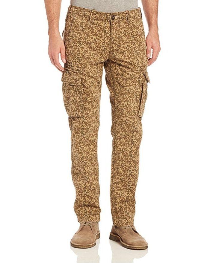 True Religion Men's Commander Big T Cargo Pant, Khaki Camo, Size 31 BNWT - $99.75
