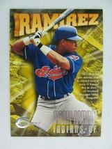 Manny Ramirez Cleveland Indians 1997 Circa Fleer Baseball Card 280 - $0.98
