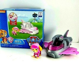 Paw Patrol Skye Rescue Jet Vehicle Pink With Extendable Wings & Figure NEW - $13.36