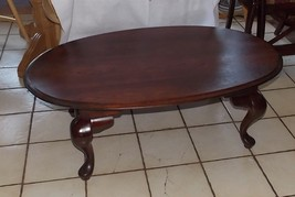 Cherry Oval Coffee Table - $399.00
