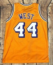 JERRY WEST AUTOGRAPHED PRO STYLE YELLOW JERSEY JSA AUTHENTICATED - $107.91