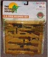 1999 21st Century Toys Ultimate Soldier US WW2 Weapons Set New In The Pa... - $29.99