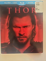 Thor + Best Buy exclusive Red Comic Slipcover [Blu-ray + DVD] image 1