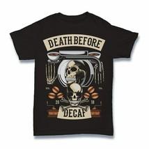 Death Before Decaf Tshirt funny cartoon S-3XL - £9.90 GBP+