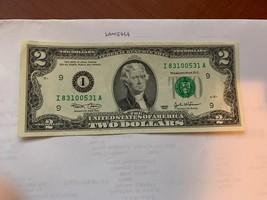 United States Jefferson $2 uncirc. banknote 2003 #8 - $7.95