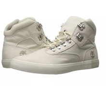 Timberland TB0A1GG8F48 2.0 Canvas Hiker Mn's White Canvas Casual Shoes Sz:11M - $64.35