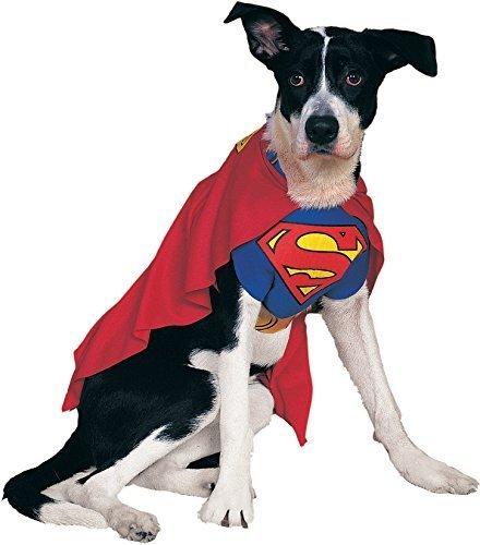 Rubie's Official Pet Dog Costume, Superman #djh