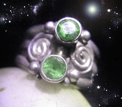 HAUNTED RING  LUCK IN HAND 20 BLESSINGS RAISE LUCK POWER MAGICK OOAK MAGICK  - $4,548.89