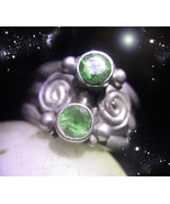 HAUNTED RING  LUCK IN HAND 20 BLESSINGS RAISE LUCK POWER MAGICK OOAK MAG... - $9,097.77