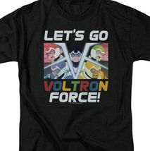 Voltron t-shirt Lets Go Voltron Force retro 80s anime graphic tee DRM327 image 3