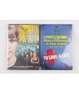 To Save A Life DVD set and 96 page inspirational book dare to make diffe... - $21.73