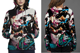 Nightwing Fight  Zipper Hoodie Women's - $48.99+