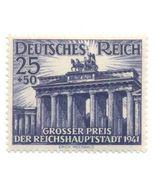 1941 WWII Brandenburg Gate Germany Postage Stamp Catalog Number B193 MNH - $12.95