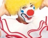 RUBIE'S CLOWN WIG YELLOW AFRO CIRCUS HALLOWEEN COSTUME ACCESSORY ONE SIZE 50766