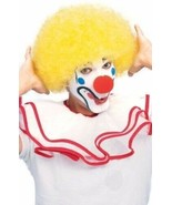 RUBIE'S CLOWN WIG YELLOW AFRO CIRCUS HALLOWEEN COSTUME ACCESSORY ONE SIZE 50766 - $10.29