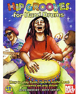 Hip Grooves For Hand Drums/How To Play Funk,Rock,And World Beat On Any Drum - $17.99
