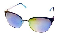 Kenneth Cole Reaction Mens Silver Sunglass Soft Square Metal KC1361  10W - $17.99