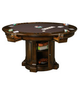 Howard Miller 699-034 (699034) Roxbury Pub & Game Table with Dining Top - £2,332.22 GBP
