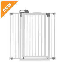 Richell Tall One-Touch Gate Ii Origami White 94931 Pet GATE NEW - $187.98