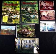 7 pc Vintage Brochure / Postcard Set Magnificent Hearst Castle 1958 Ogde... - $15.84