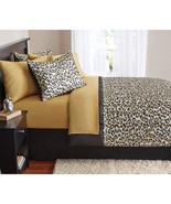 Animal Print Bedding Set Queen Size 8-Piece Bed-in-a-Bag Comforter Sheet... - $51.01