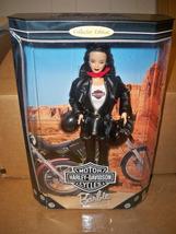 Mattel Harley Davidson Barbie #3 Brunette Doll NRFB Never opened excelle... - $35.00