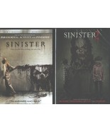 SINISTER 1 & 2: Original Horror Classic and Sequel- Ethan Hawke- NEW 2 DVD - $22.76