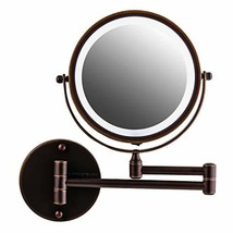 Ovente Wall Mounted Vanity Makeup Mirror 7 Inch with 7X Magnification an... - $41.99