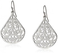 1928 Jewelry Vine Earrings - $30.42