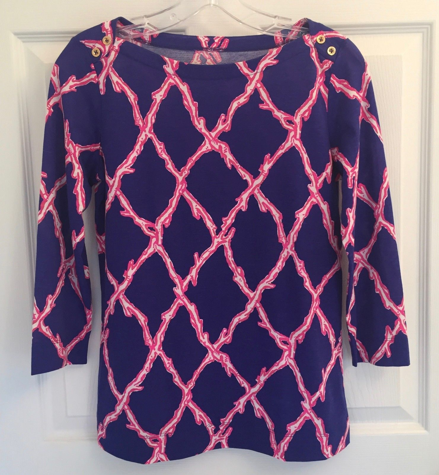 52610b5bbac New Lilly Pulitzer Sz Xs Women s Navy Pink and 50 similar items. S l1600