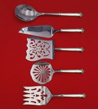 English Shell by Lunt Sterling Silver Brunch Serving Set 5pc HH WS Custom Made - $359.00