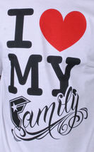 Famous Stars & Straps Hommes Fsas Love My Family T-Shirt Petit 105633 Nwt image 3