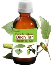 Birch Tar Oil- Pure & Natural Essential Oil-15 ml Betula alba by Bangota - $11.13