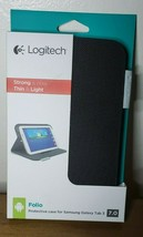 Logitech Ultra thin Folio Case  for Samsung Galaxy Tab 3  7.0 - Black - $11.87