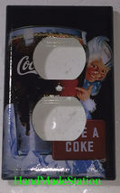 Have a Coke Coca-Cola Light Switch Outlet wall Cover Plate Home Decor image 2