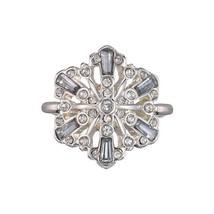 Avon Sparkling Winter Snowflake Ring Size 8 - $12.99