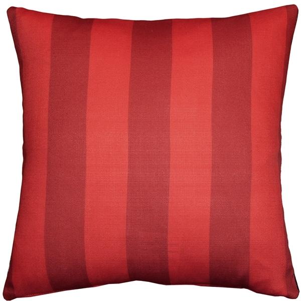 Pillow Decor - Red Poppy 20x20 Throw Pillow