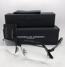 567e9c8b136cc New PORSCHE DESIGN Eyeglasses P 8251 F 56-15 145 Matte Black Semi Rimless